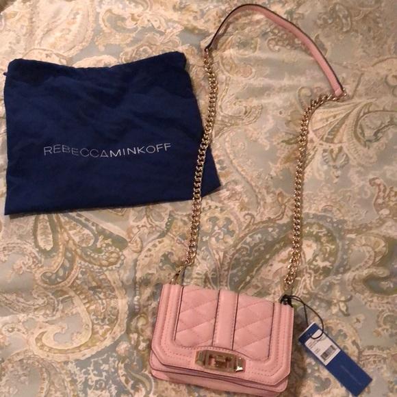 0b7df2b2e101 Rebecca Minkoff Bags | Light Pink Mini Love Crossbody | Poshmark